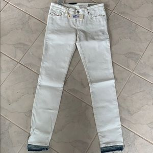 Diesel Skinzee white coated jeans size 29 NWT